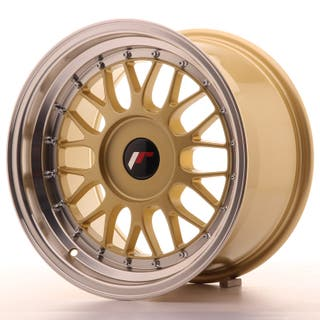 Japan Racing JR23 16x9 ET20-35 Blank Gold