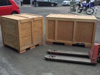 cajon madera embalaje/almacenamiento