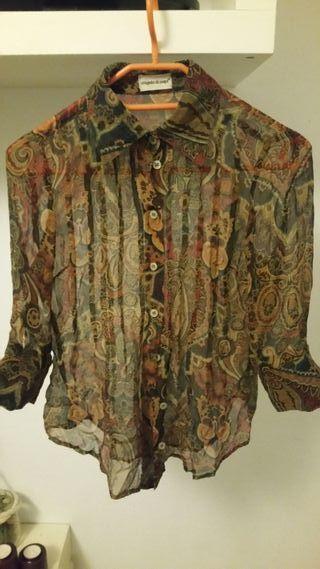 blusa de gasa 1 sola puesta talla 38