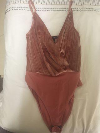 Pink velvet body