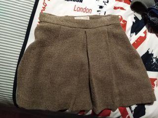 faldas y pantalones cortos