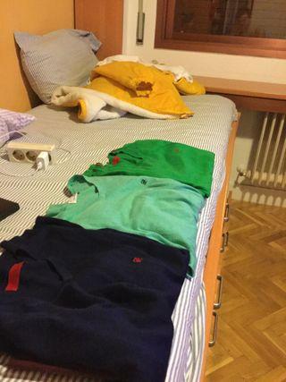 3 jerseys de pico Carolina Herrera