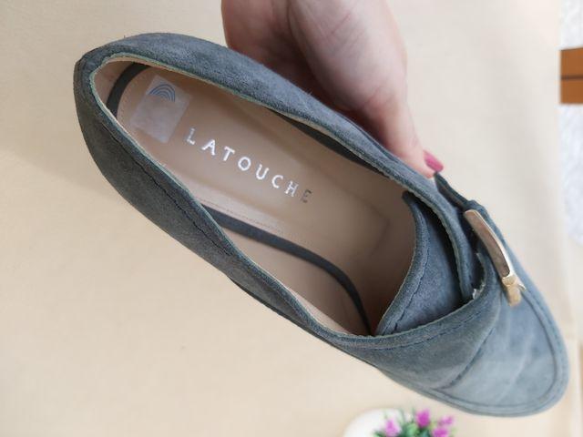 PVP 179 Latouche zapato piel Talla 41
