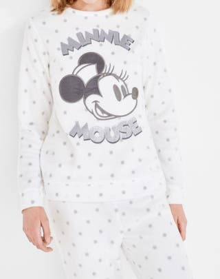 Women'Secret pijama a estrenr polar mickey tallaL