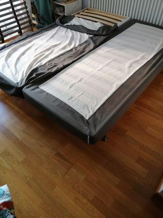 cabecero y soportes cama ikea