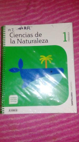 libro ciencias naturales 1 de primaria
