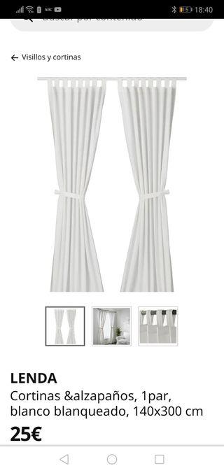 cortinas lenas