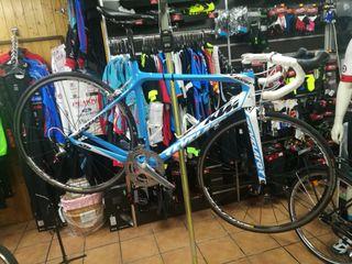 bicicleta KTM talla L CARBONO