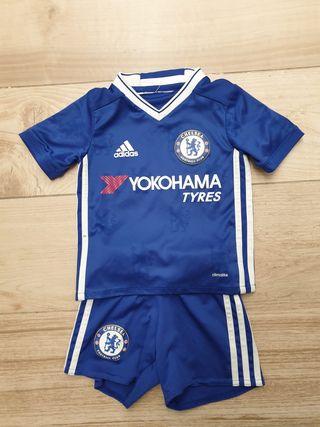 Equipación Chelsea 2-3 años