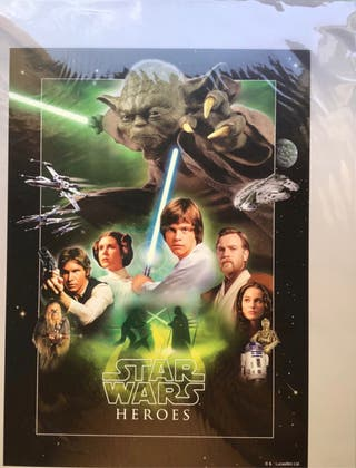 Lamina Star Wars serie limitada