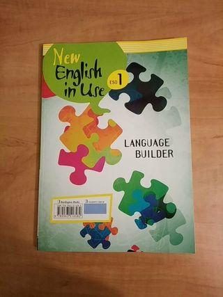 libro de inglés de 1° de eso