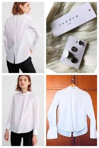 Camisa mujer, chica en blanco de Sandro