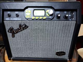 Ampli Fender G-Dec 30 con funda transporte