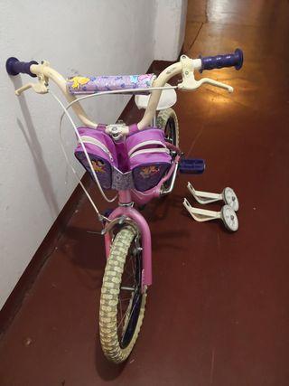 Bicicleta 16 con ruedines