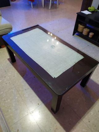 mesa salón auxiliar elevable