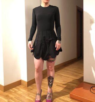 Vestido maria escote