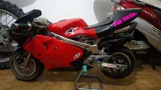 se vende mini moto