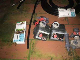Sistema de micro-riego automático Gardena