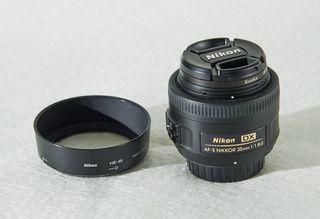 Objetivo Nikon NIKKOR AF-S 35mm. f/1.8 G DX
