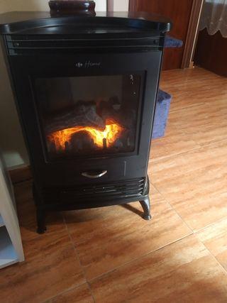 calefacción chimenea