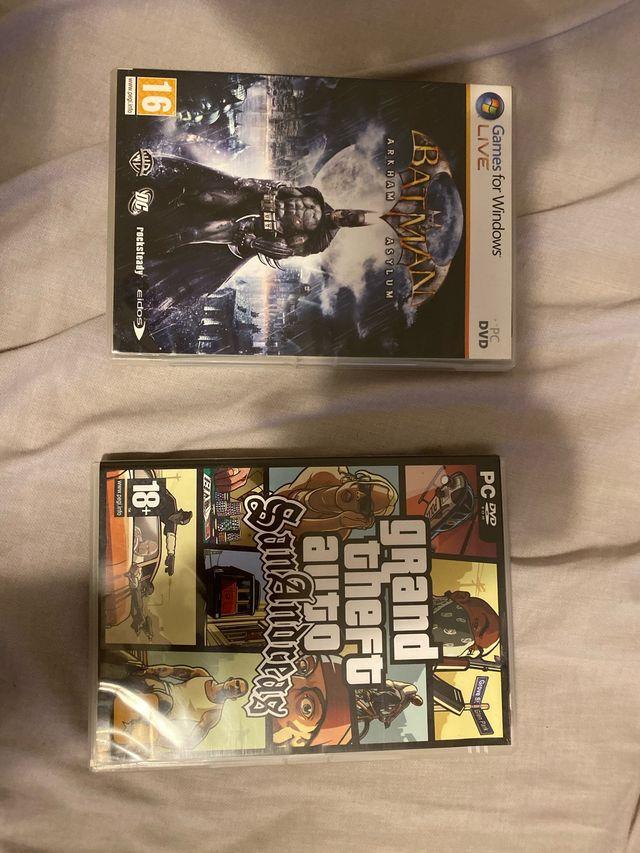 Juegos PC BATMAN Y GTA