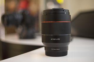Objetivo Samyang 50mm F 1.4 para Sony montura E