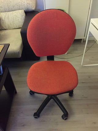 Silla oficina naranja