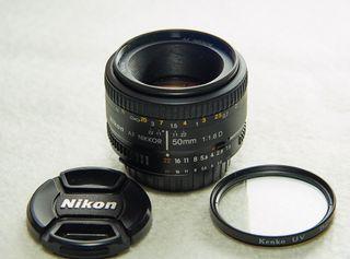 Objetivo Nikon NIKKOR AF 50mm f/1.8 D