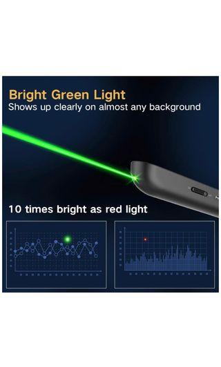 Puntero laser y mando remoto presentaciones