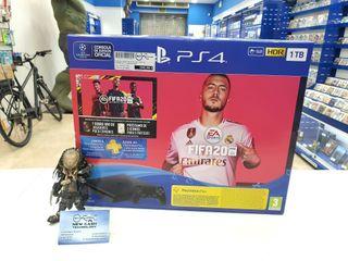 PS4 SLIM 1TB + FIFA 20 PRECINTADA