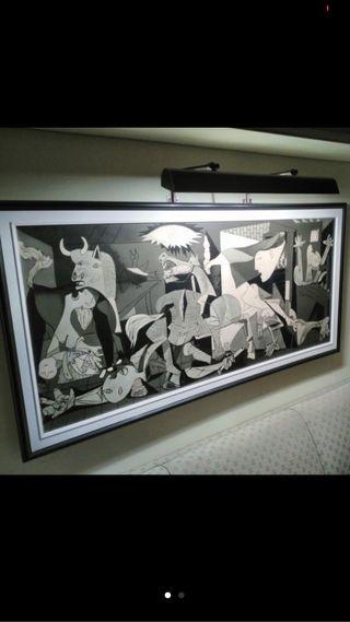 Cuadro Guernica lámina reproducción tamaño grande