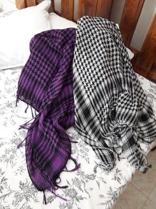pañuelos 8€ los dos