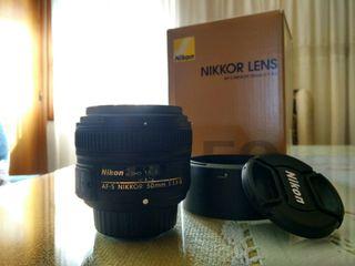 Nikon Nikkor 50mm 1.8 G