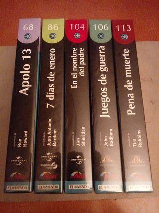 Lote 5 Películas VHS Precintadas