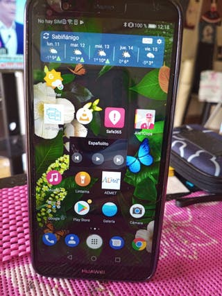 "HUAWEI P Smart 5.65"" FHD Q2.36GHz 3GB 4G Azul"
