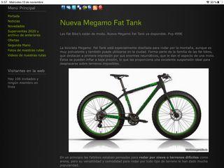 Fat bike megamo