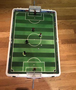 Campo fútbol Playmobil