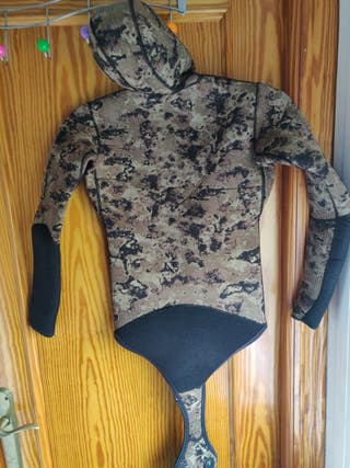 chaqueta neopreno pesca submarina 7mm