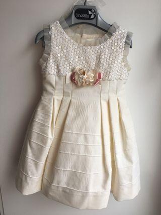 Vestido ceremonia niña 2 años