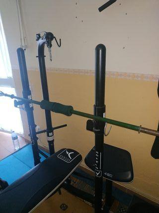 Maquina por musculacion Domyos BM490