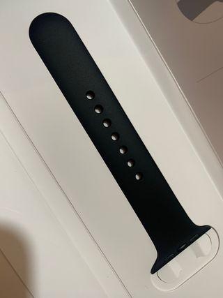 Parte correa Apple Watch 42-44 negra