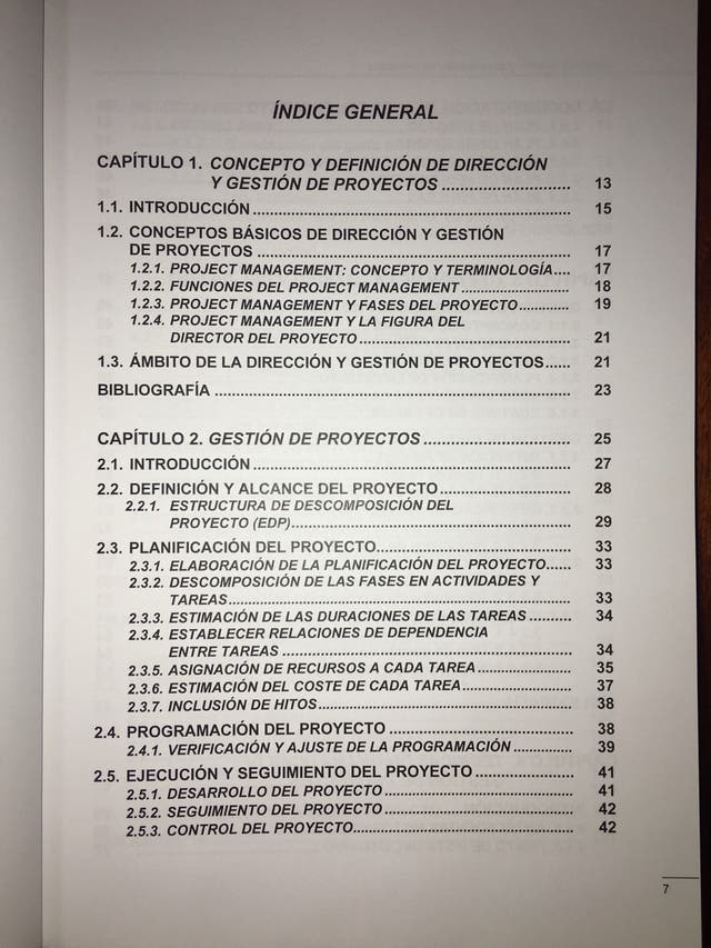Dirección, gestión y organización de proyectos