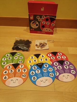 bingo- loto marca Janos de 3 a 6 años