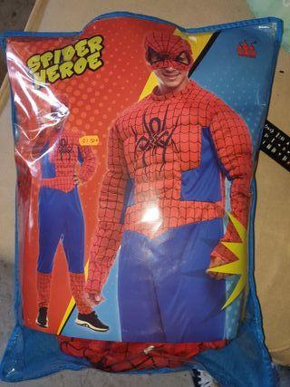 disfraz spiderman hombre talla L