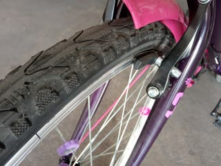 Bicicleta niña con cambios