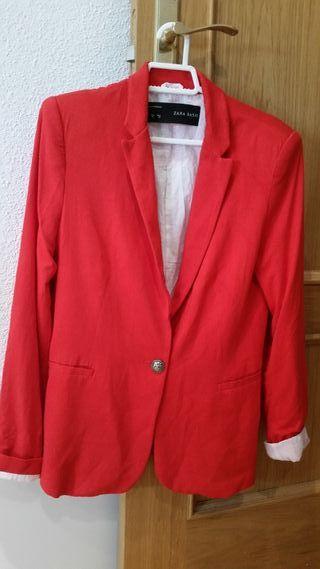 Chaqueta Zara Basic talla M