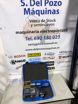 Uponor prensa Bateria 18v Klauke