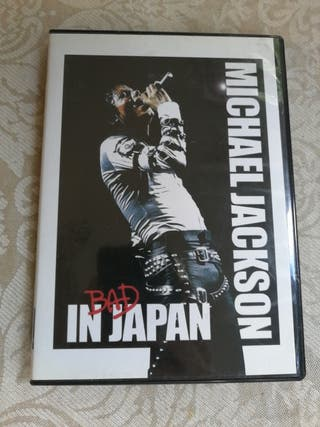Dvd Bad Tour in Japan Michael Jackson descatalogad