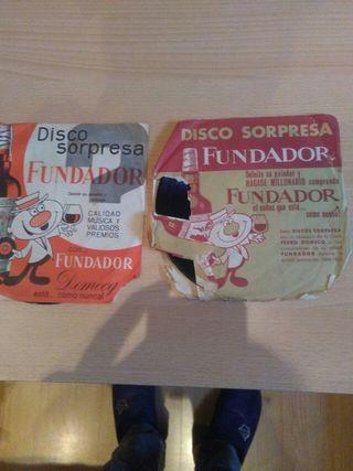 2 discos fundador años 60
