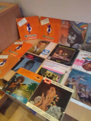 18 discos antiguos
